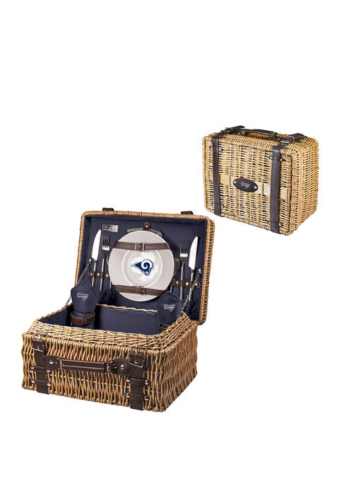 NFL Los Angeles Rams Champion Picnic Basket