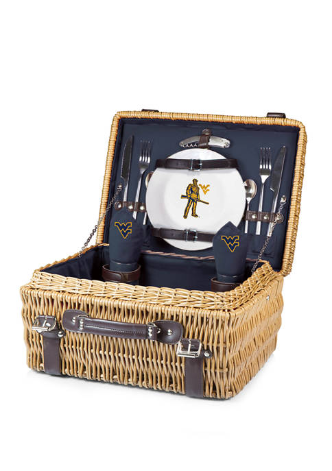 NCAA West Virginia Mountaineers Champion Picnic Basket