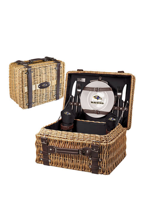 Picnic Time NFL Baltimore Ravens Champion Picnic Basket