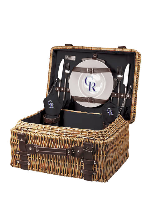 Picnic Time MLB Colorado Rockies Champion Picnic Basket