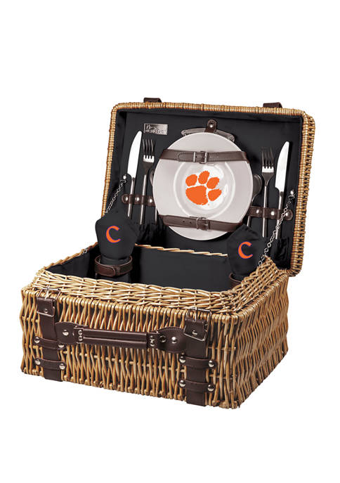 NCAA Clemson Tigers Champion Picnic Basket