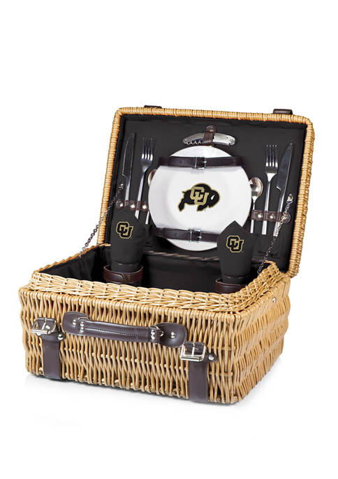 NCAA Colorado Buffaloes Champion Picnic Basket