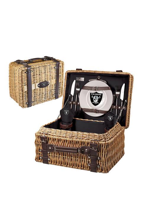 NFL Oakland Raiders Champion Picnic Basket