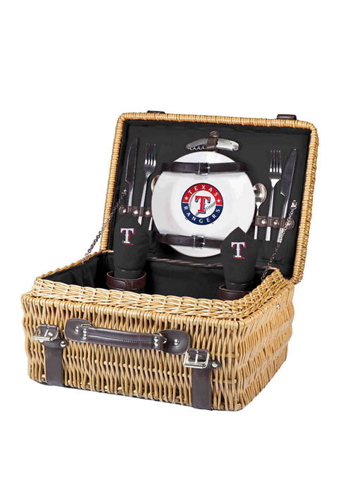 Picnic Time MLB Texas Rangers Champion Picnic Basket