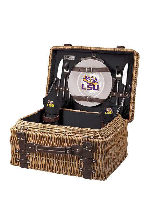Picnic Time NCAA LSU Tigers Champion Picnic Basket
