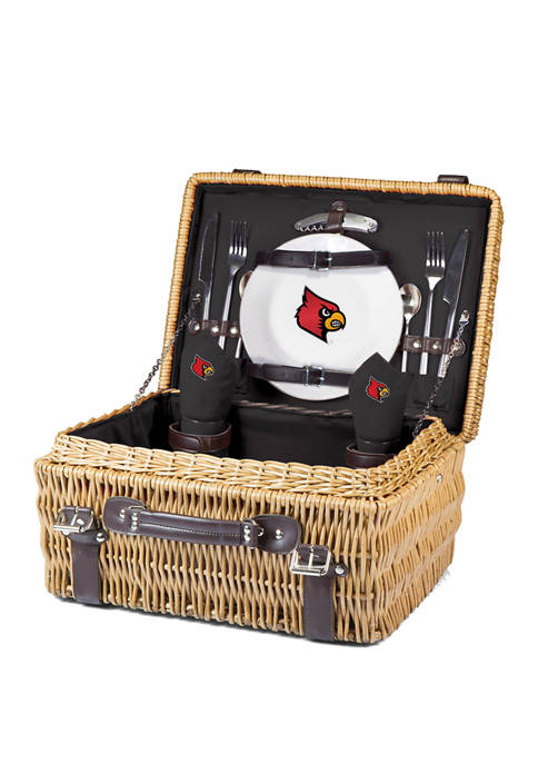 Picnic Time NCAA Louisville Cardinals Champion Picnic Basket