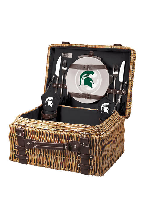 NCAA Michigan State Spartans Champion Picnic Basket