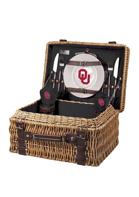 NCAA Oklahoma Sooners Champion Picnic Basket