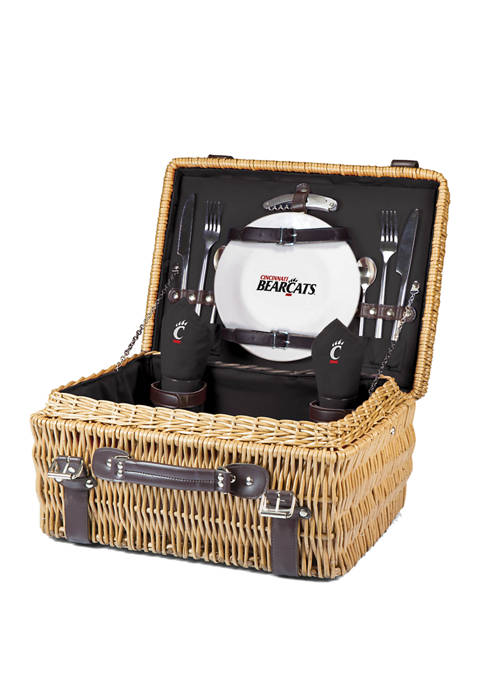 Picnic Time NCAA Cincinnati Bearcats Champion Picnic Basket