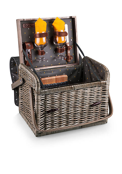 Picnic Time Kabrio Wine And Cheese Basket Anthology