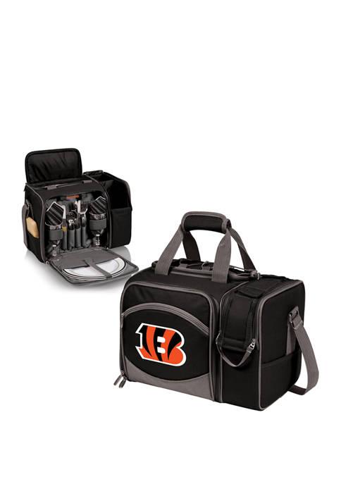 NFL Cincinnati Bengals Malibu Picnic Basket Cooler
