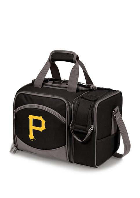 MLB Pittsburgh Pirates Malibu Picnic Basket Cooler