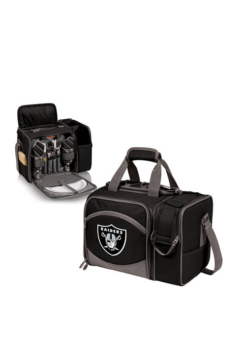 NFL Oakland Raiders Malibu Picnic Basket Cooler