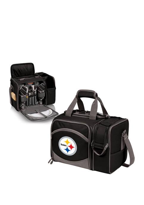NFL Pittsburgh Steelers Malibu Picnic Basket Cooler