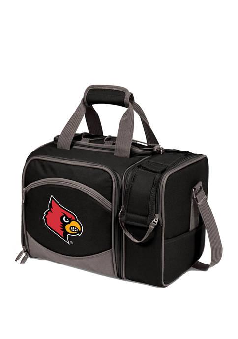 NCAA Louisville Cardinals Malibu Picnic Basket Cooler