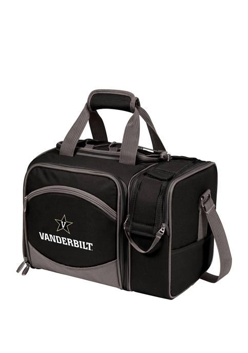 NCAA Vanderbilt Commodores Malibu Picnic Basket Cooler