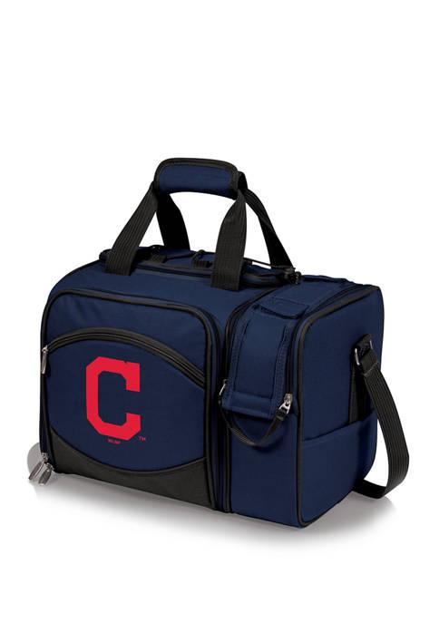 MLB Cleveland Indians Malibu Picnic Basket Cooler