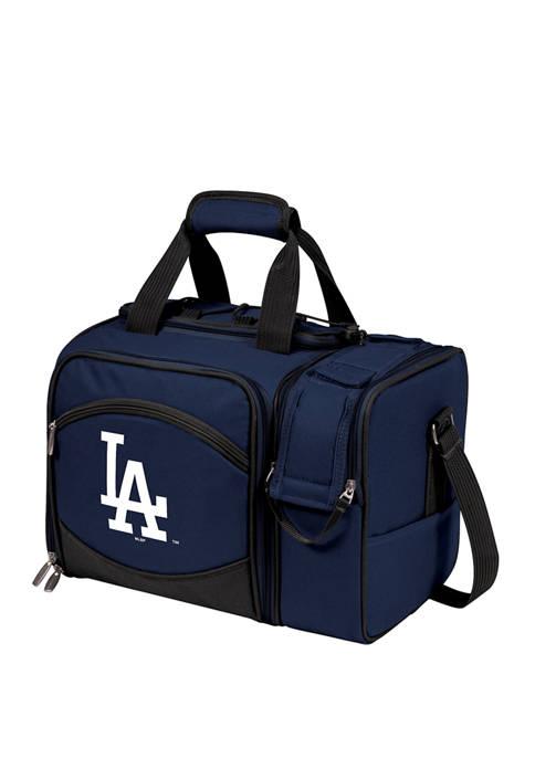 MLB Los Angeles Dodgers Malibu Picnic Basket Cooler