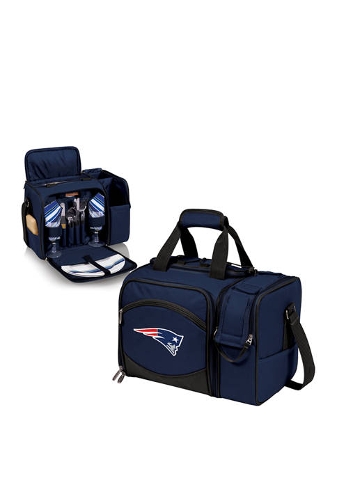 NFL New England Patriots Malibu Picnic Basket Cooler