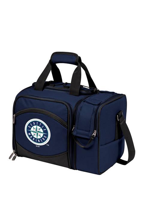 MLB Seattle Mariners Malibu Picnic Basket Cooler