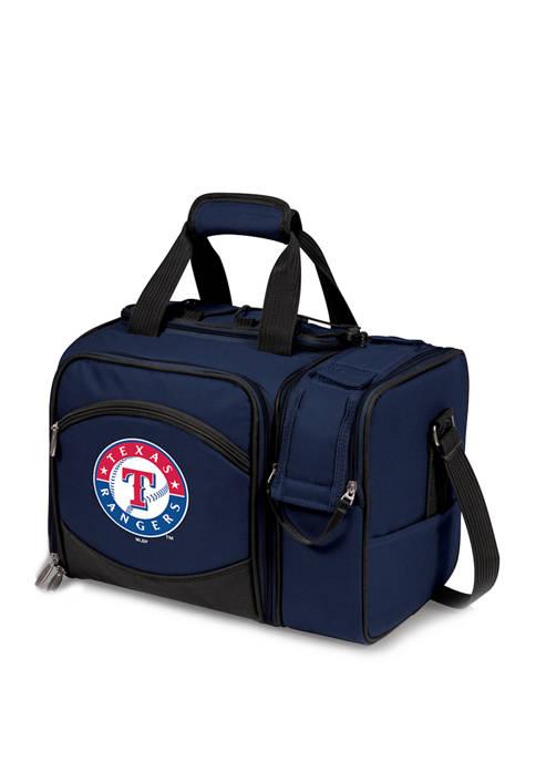 MLB Texas Rangers Malibu Picnic Basket Cooler