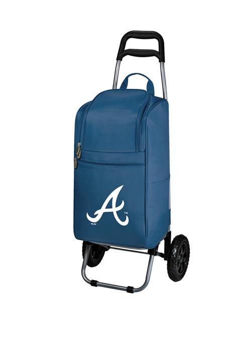 MLB Atlanta Braves Rolling Cart Cooler