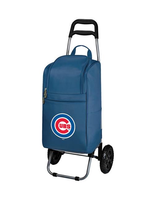 MLB Chicago Cubs Rolling Cart Cooler