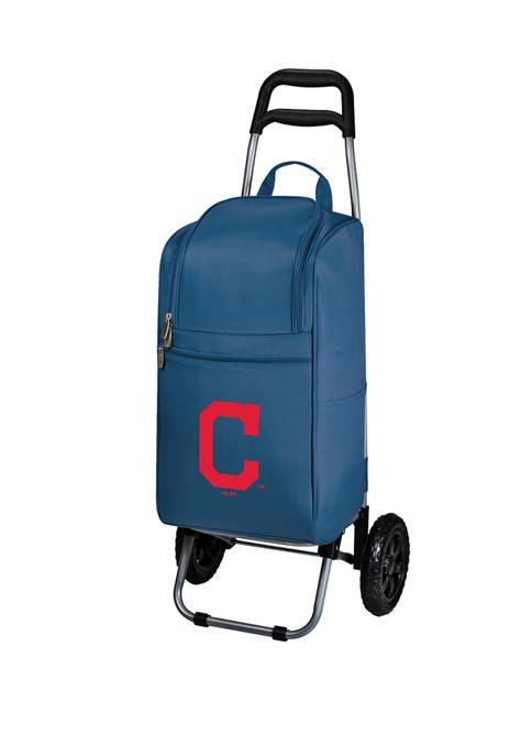 MLB Cleveland Indians Rolling Cart Cooler