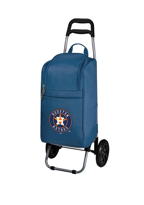 MLB Houston Astros Rolling Cart Cooler