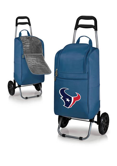 NFL Houston Texans Rolling Cart Cooler