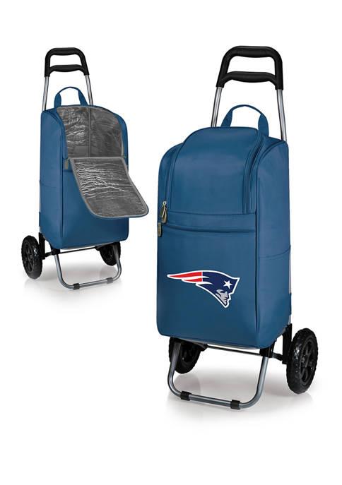 ONIVA NFL New England Patriots Rolling Cart Cooler