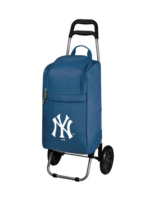 MLB New York Yankees Rolling Cart Cooler