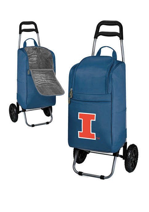 Picnic Time NCAA Illinois Fighting Illini Rolling Cart