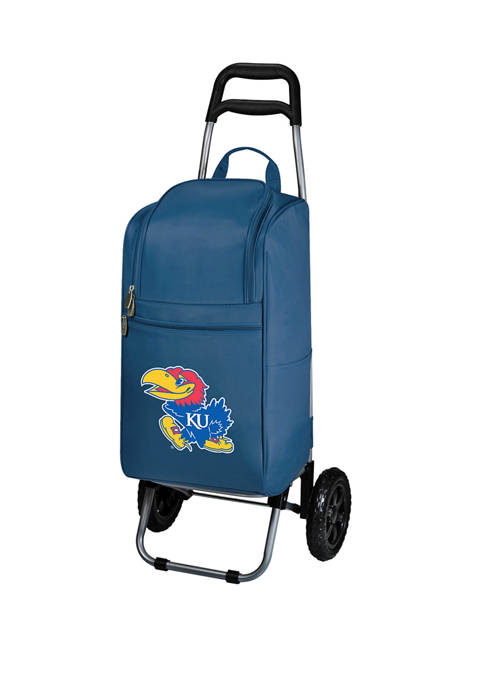 Picnic Time NCAA Kansas Jayhawks Rolling Cart Cooler