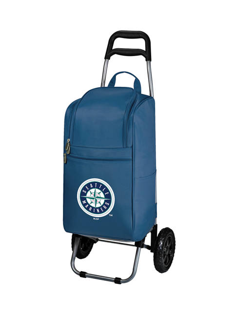 MLB Seattle Mariners Rolling Cart Cooler
