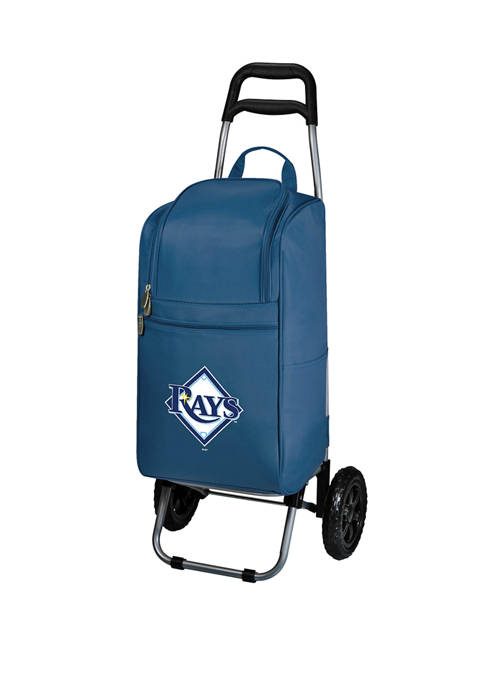 ONIVA MLB Tampa Bay Rays Rolling Cart Cooler
