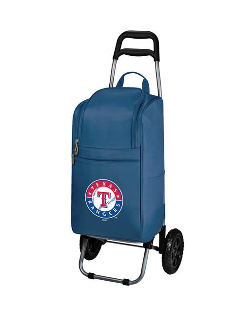 MLB Texas Rangers Rolling Cart Cooler