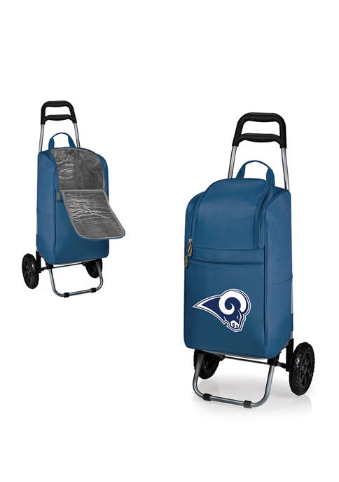 NFL Los Angeles Rams Rolling Cart Cooler