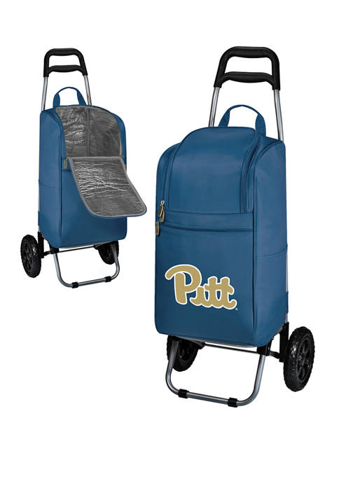 NCAA Pittsburgh Panthers Rolling Cart Cooler