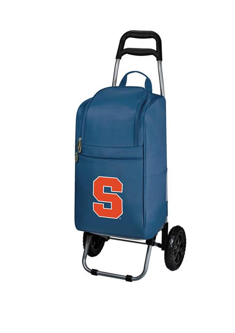 NCAA Syracuse Orange Rolling Cart Cooler