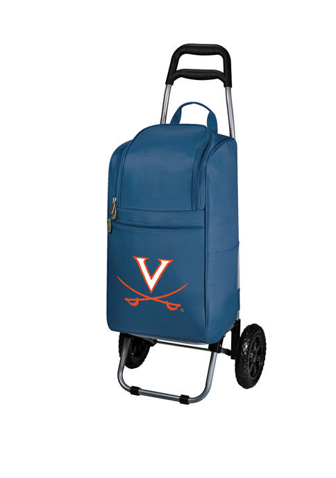 NCAA Virginia Cavaliers Rolling Cart Cooler