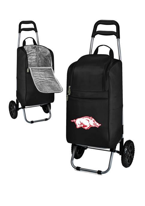 NCAA Arkansas Razorbacks Rolling Cart Cooler