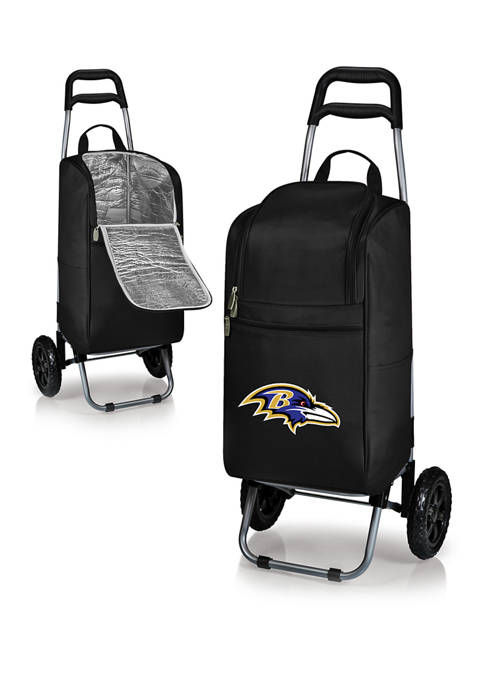 ONIVA NFL Baltimore Ravens Rolling Cart Cooler