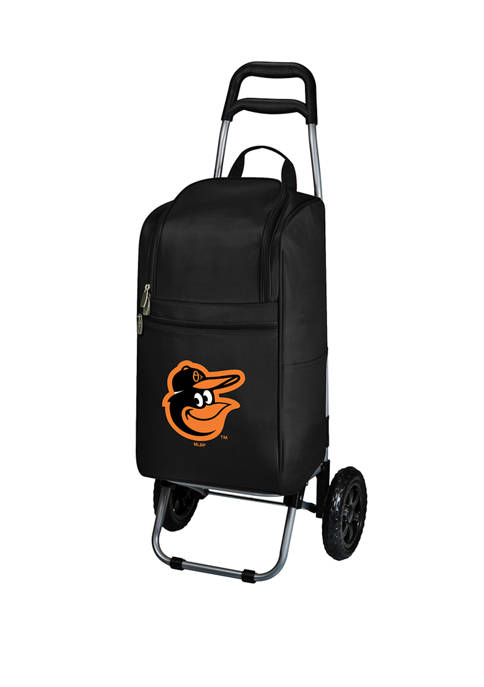 MLB Baltimore Orioles Rolling Cart Cooler
