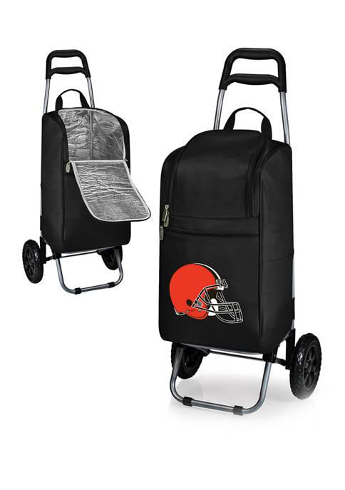 NFL Cleveland Browns Rolling Cart Cooler