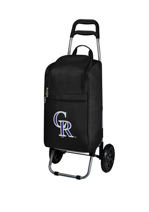 ONIVA MLB Colorado Rockies Rolling Cart Cooler