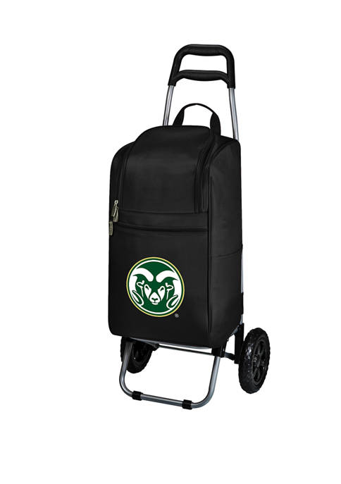 Picnic Time NCAA Colorado State Rams Rolling Cart