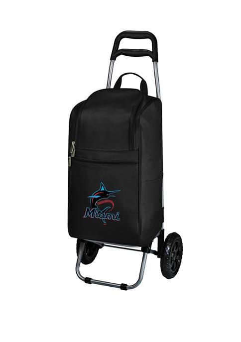 MLB Miami Marlins Rolling Cart Cooler