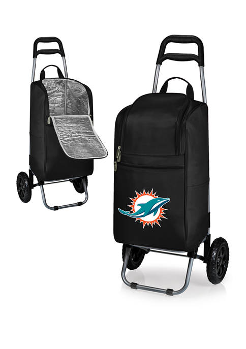 ONIVA NFL Miami Dolphins Rolling Cart Cooler