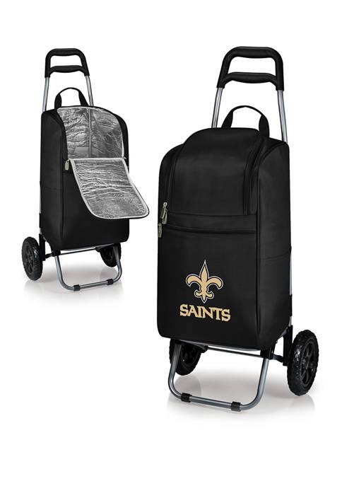NFL New Orleans Saints Rolling Cart Cooler